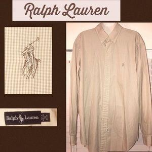 Ralph Lauren Gingham Dress Shirt